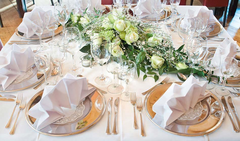 Tisch Dekoration Weindiele